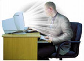 излучения монитора компьютера